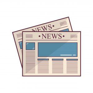 """Kundenservice B2B: zwei Zeitungen mit der Überschrift """"News"""" als Symbol für Content Marketing"""